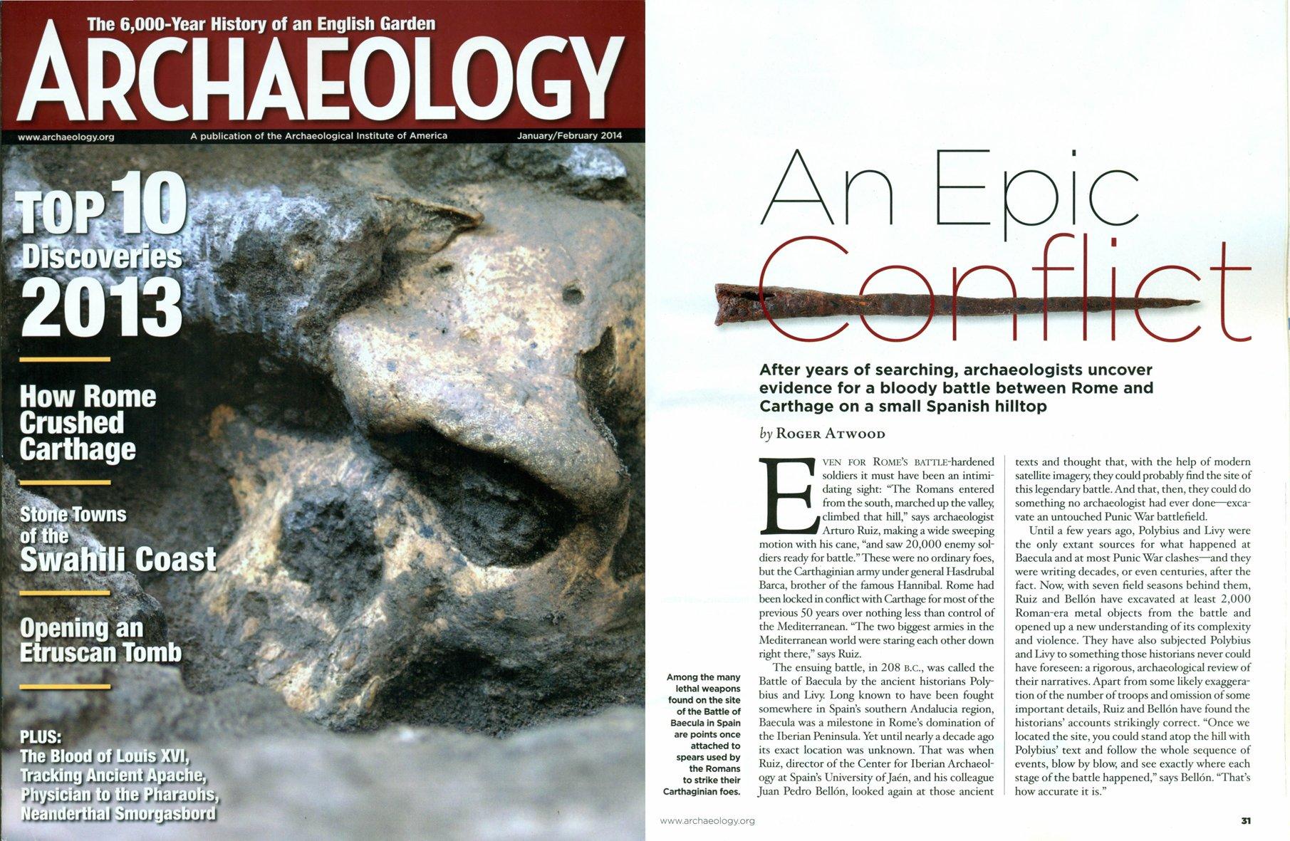 Revista Archaelogy UJA