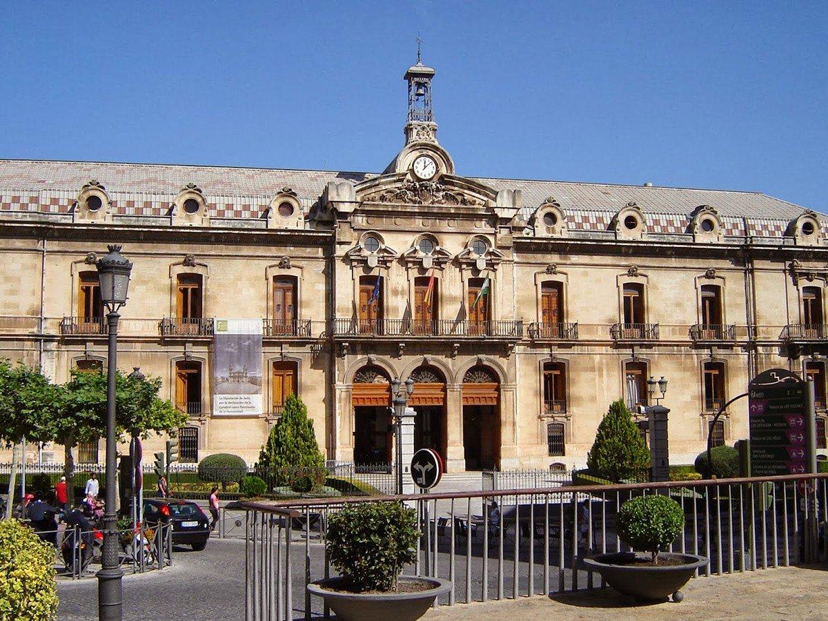 Diputación Provincial. Fachada principal