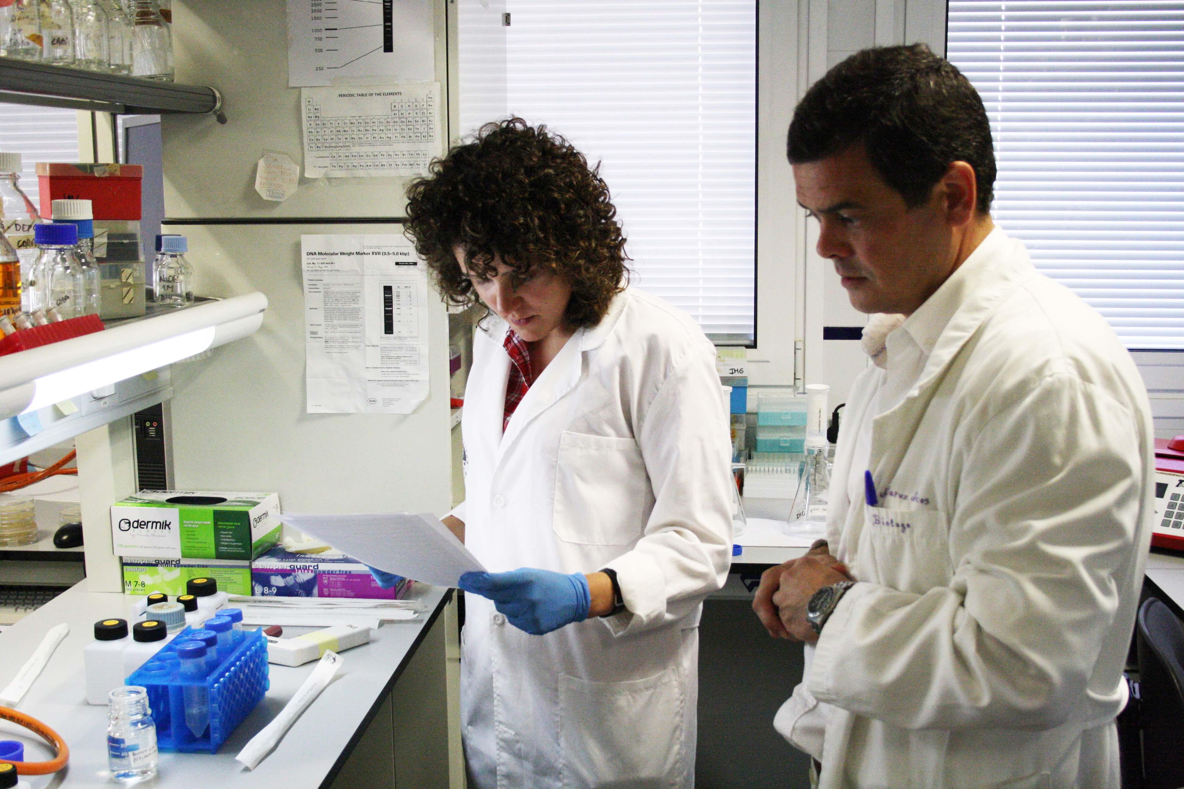 Investigadores UJA VIH